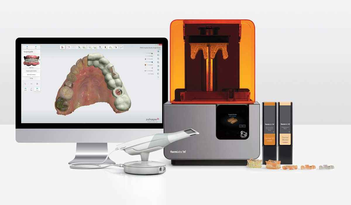 3d Printing Technology –  With our Formlabs 3D printing machines we are able to 3D print,  accurately and quickly.