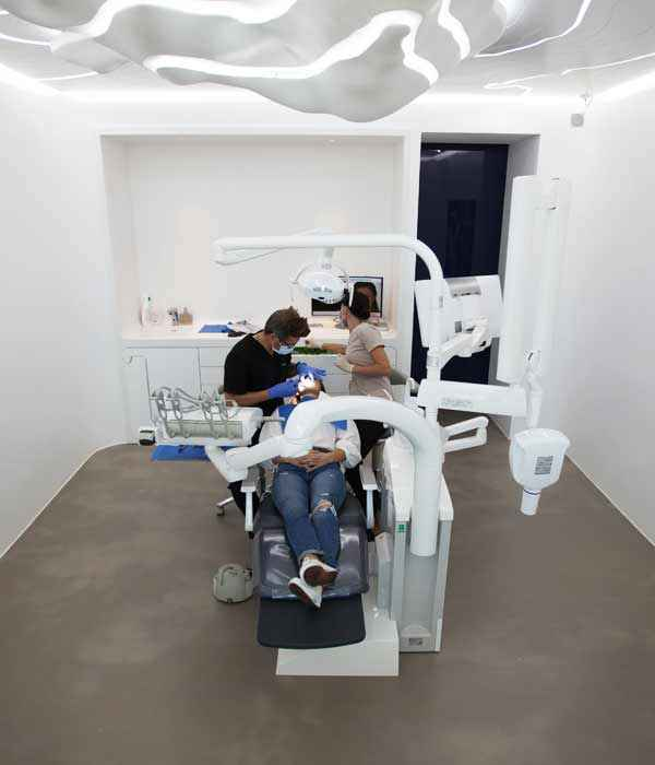 One of our dental Cabinet in a dental clinic in Geneva