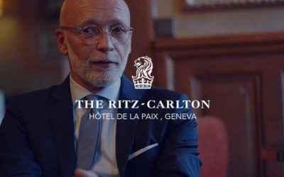 Interview Smile Werner Pichler, Directeur du The Ritz-Carlton Hôtel de la Paix, Genève